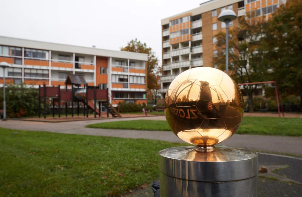 foto : andreas hillergren : malmš 2017-10-22 fšrhands infšr guldbollen, rosengŒrd, zlatan ibrahimovic hemkvarter foto: andreas hillergren